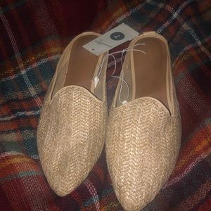 NWT-Universal Thread Woven Mules